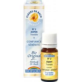 Elixir Floral Sans Alcool en Granules – 002 TREMBLE