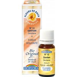 Elixir Floral Sans Alcool en Granules – 012 GENTIANE