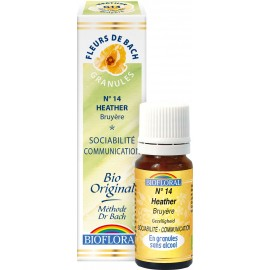 Elixir Floral Sans Alcool en Granules – 014 BRUYERE