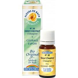 Elixir Floral Sans Alcool en Granules – 030 CHATAIGNIER