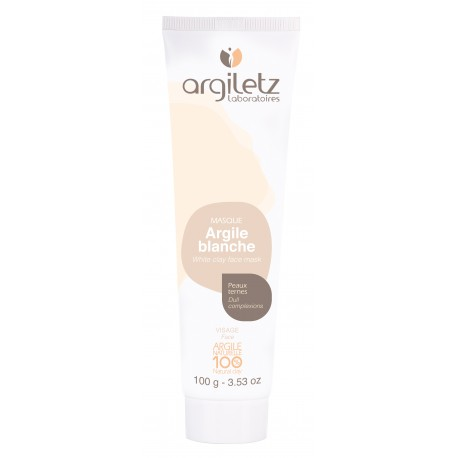 Masque Argile Blanches 100 ml – Peaux Ternes