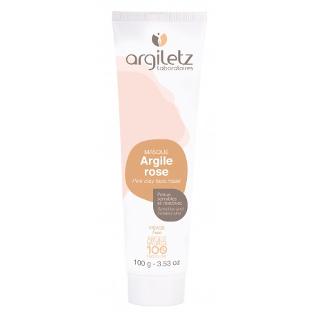 Masque Argile Rose 100 ml – Peaux Sensibles
