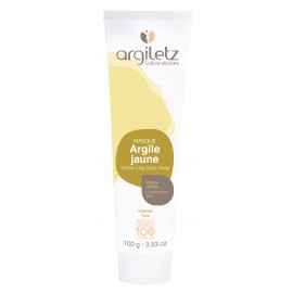 Masque Argile Jaune 100 ml – Peaux Mixtes