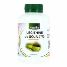 LECITHINE SOJA CAPSULES NATAVEA