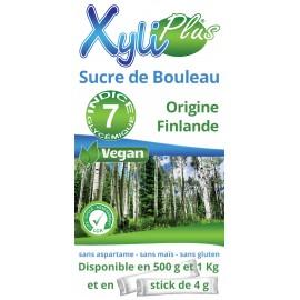 Xylitol - XYLIPLUS en Doypack de 500 gr,  1 kg et dosettes