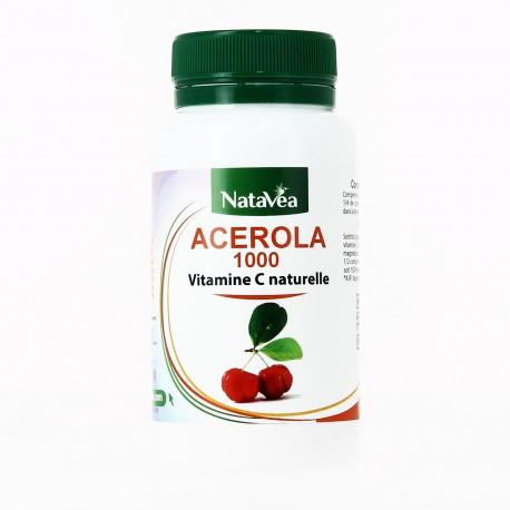 ACEROLA 1000 – Vitamine C naturelle Natavéa