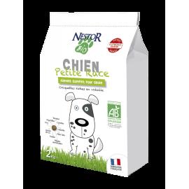 Croquettes Bio pour Chien de moins de 10 Kg NESTOR BIO