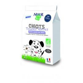 Croquettes Bio SANS CEREALES et SANS GLUTEN pour CHIOT NESTOR BIO