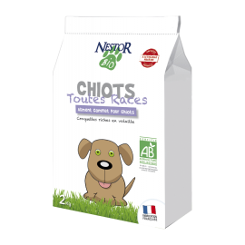 Croquettes Bio pour CHIOT NESTOR BIO