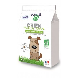 Croquettes Bio SANS CEREALES et SANS GLUTEN pour PETIT CHIEN - NESTOR BIO