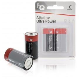 Pile Alcaline C 1.5 V LR14 - Blister de 2 unités