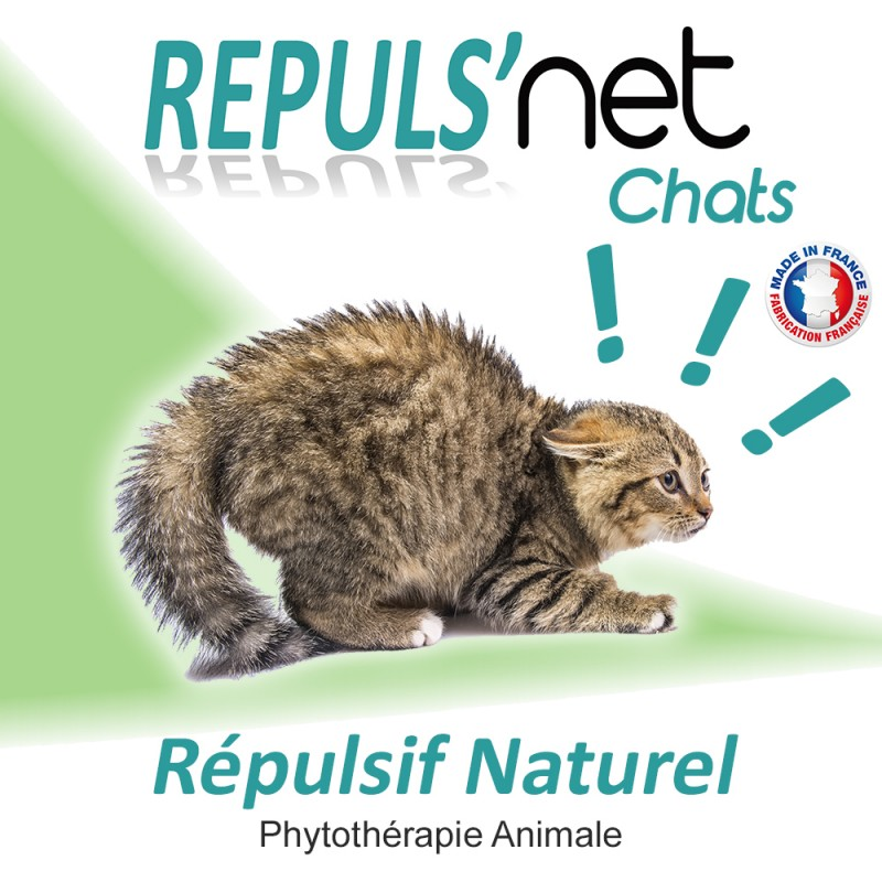 Repuls 39 net r pulsif 100 naturel contre les chats - Repulsif chat jardin naturel ...