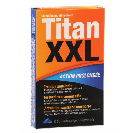 Stimulant Sexuel à Effet Rapide TITAN XXL