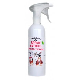 Spray Naturel Anti Tiques et Puces