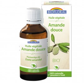 HUILE VEGETALE AMANDE DOUCE - 50 ML BIOFLORAL