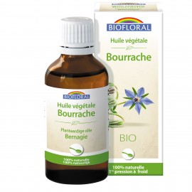 HUILE VEGETALE BOURRACHE - 50 ML BIOFLORAL