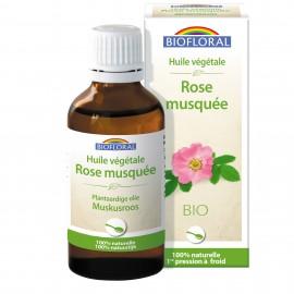 HUILE VEGETALE BIO ROSE MUSQUEE - 50 ML BIOFLORAL