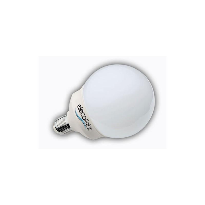 Ampoule Globe Plein Spectre Elecolight 23 W 5000° E27 (Gros Culot