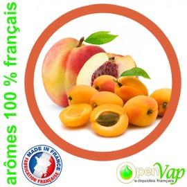 PECHE ABRICOT Openvap - e-liquide pour cigarettes électroniques 10 ml