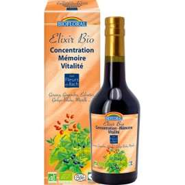 Elixir Concentration Mémoire Vitalité