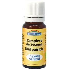 Remède de Secours Nuits Paisibles  en Granules sans alcool 039N GRA