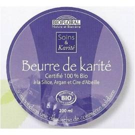 Beurre de Karité à la Silice, Argan et Cire d'Abeille
