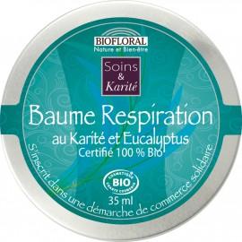 Baume Respiration Eucalyptus et Menthe Poivrée BIO 35ml