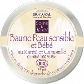 Baume Peau Sensible et Bébé Karité et Camomille BIO 35ml