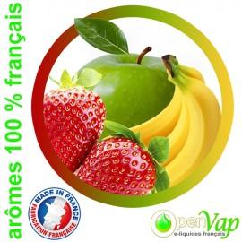 POMME BANANE FRAISE Openvap - e-liquide pour cigarettes électroniques 10 ml