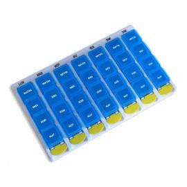 Pilulier Hebdomadaire à 4 Compartiments/Jour